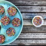 Grain Free Chocolate Birthday Cupcakes