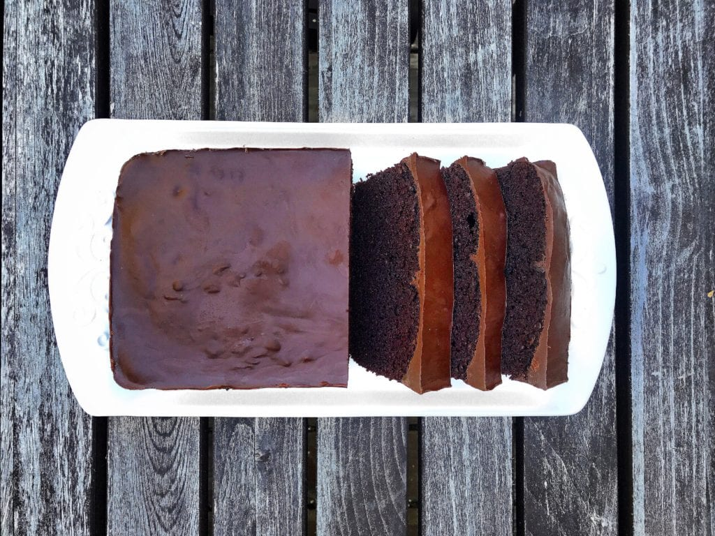 Grain Free Double Chocolate Loaf Cake
