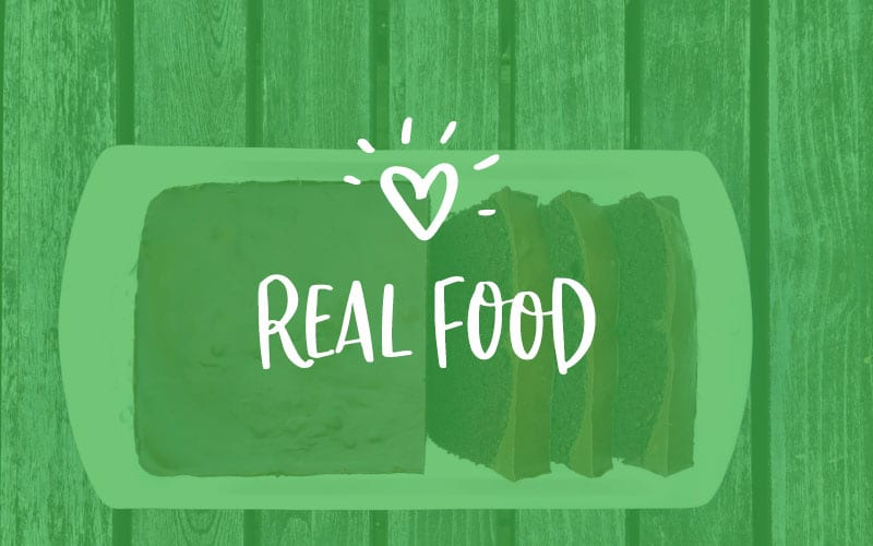real food background