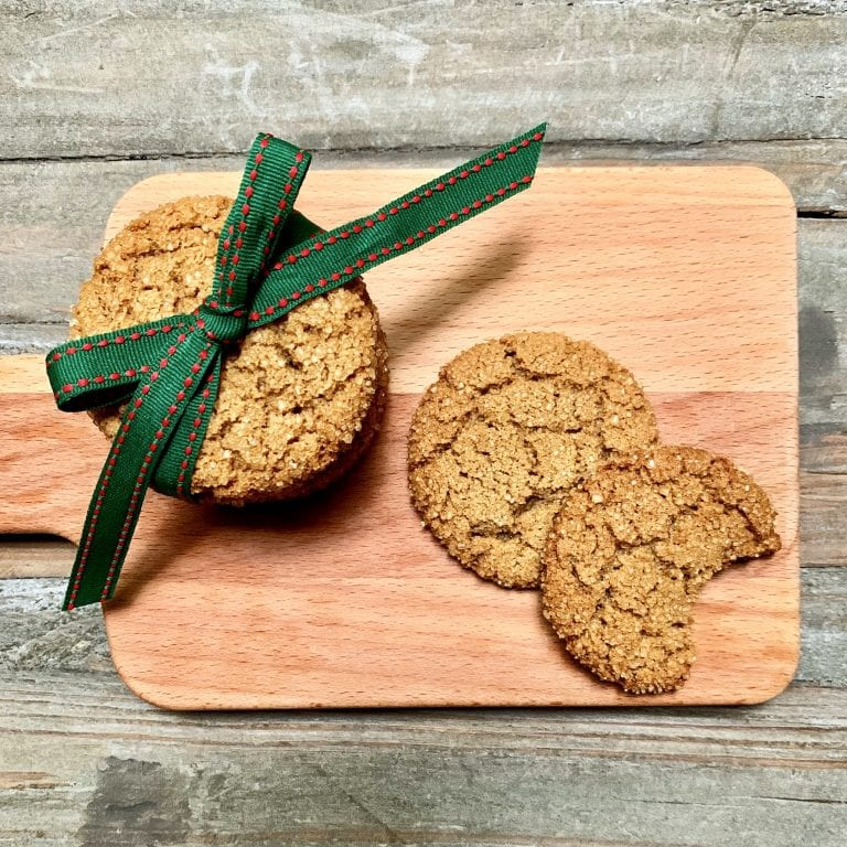 Gluten Free Ginger Molasses Cookies